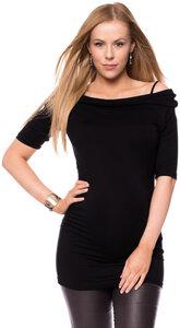 LYDIA Carmen Shirt aus Modal Jersey - Ingoria