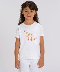 T-Shirt mit Motiv / Bee Happy - Kultgut