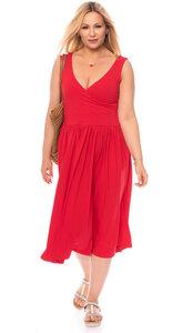 VALERIE Midi Kleid aus Bambusfasern - Ingoria