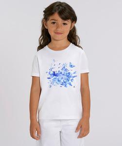 T-Shirt mit Motiv / blue delfts - Kultgut