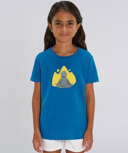 T-Shirt mit Motiv / Yogafaultier - Kultgut