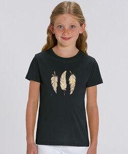 T-Shirt mit Motiv / Glücksfedern - Kultgut