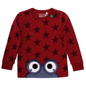 Kinder Langarm-Shirt Star  - Fred's World by Green Cotton