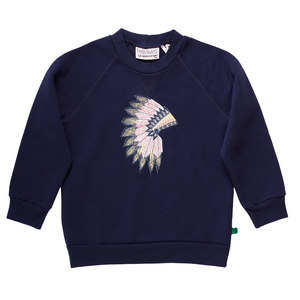 Kinder Sweat-Shirt Indianer  - Fred's World by Green Cotton