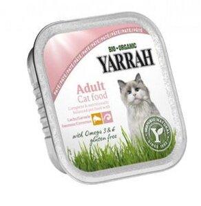 Wellnesspate Lachs für die Katze (4er Pack) - Yarrah