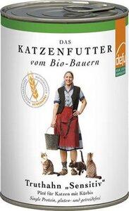 """Pate Truthahn """"Sensitiv"""" für die Katze (3er Pack) - defu - dem Leben verpflichtet"""