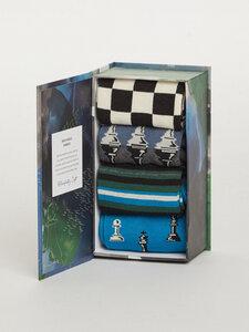 Schachset Box 4er Set Sockenbox - Chess Set Sock Box - Thought
