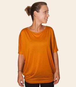 Basic - Fair gehandeltes, kurzarm Frauen Flow T-Shirt aus Modal - päfjes