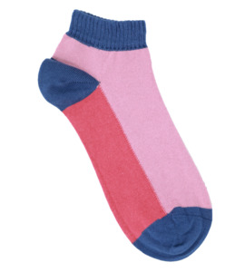Colour Block Sports Ankle Socks - VNS Organic