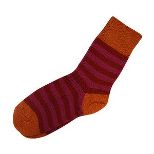 Damen / Herren Ringel Socke - hirsch natur
