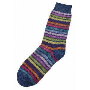 Baby / Kinder Ringel Socke - hirsch natur