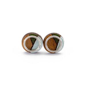 Conture Eco Luxury Ohrringe aus recyceltem Holz - Paguro Upcycle
