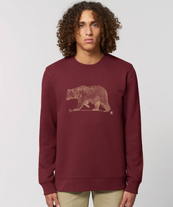 Herren Sweatshirt/ Golden Bear - Kultgut