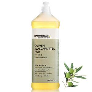 Allergiker Bio Oliven Feinwaschmittel PUR 1,0 L - NATUREHOME