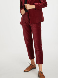 Samt Hose - Zillah Trousers - Thought