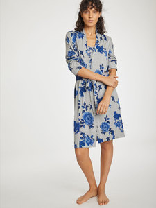 Blumen Morgenmantel - Reanna Robe - Thought