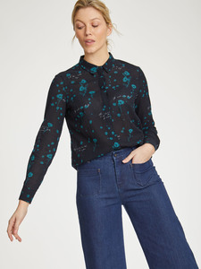 Bluse Blumen - Cressida Blouse - Thought