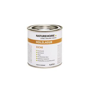 Vegane Bio-Holzlasur für Innenbereich 375 ml / 750 ml verschiedene Farben - NATUREHOME