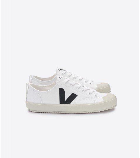 Sneaker Damen Vegan - Nova Canvas - White Black