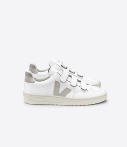 Sneaker Damen - V-Lock Leather - Extra White Natural - Veja
