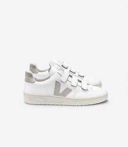 Sneaker Herren - V-Lock Leather - Extra White Natural  - Veja