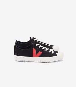 Sneaker Damen Vegan - Nova Canvas - Black Pekin - Veja