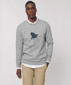 Herren Sweatshirt/ Shark - Kultgut