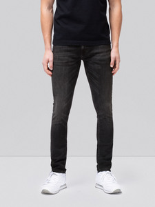 Skinny Lin Worn Black - Nudie Jeans