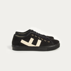 Sneaker Damen Vegan - Rancho - All Black  - Flamingos' Life