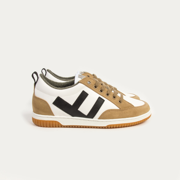 Sneaker Damen Vegan - Roland - Camel Ivory