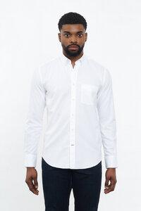 Oxford Hemd Weiss - CARPASUS