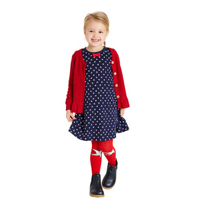 Mädchen Kleid Langarm - Fred's World by Green Cotton
