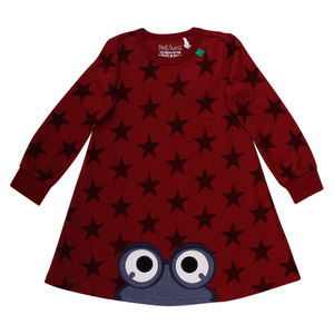 Mädchen Kleid Langarm Star  - Fred's World by Green Cotton