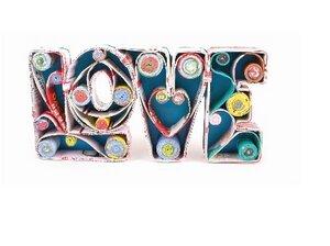 """Deko-Schriftzug """"Love"""" - El Puente"""
