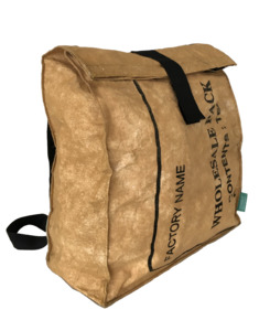 Tea-Backpack - Shopper - Rucksack- upcycling - Fairtrade - SuperWaste