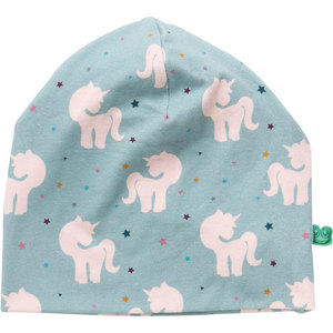 Baby / Kinder Beanie Einhorn  - Fred's World by Green Cotton