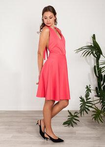 Sommerkleid kurzes Kleid Neckholder Viskose - SinWeaver alternative fashion