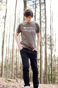 Vegetarier-Shirt Herren - Tender Loving Clothing by Mantisworld