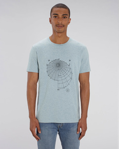 T-Shirt mit Motiv / Tag & Nacht - Kultgut