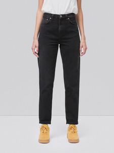 Breezy Britt Black Worn - Nudie Jeans