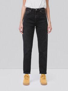Breezy Britt Black Worn - Nudie Jeans