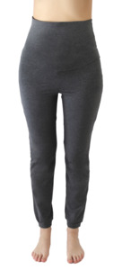 Damen Yogahose Bio-Baumwolle Trainingshose Sporthose Fußbündchen 4062 - Albero