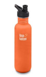 Edelstahl Trinkflasche Klean Kanteen Classic 800ml mit Sport Cap - Klean Kanteen