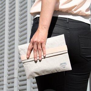 Purist Clutch - vegane Handtasche - eisbörg