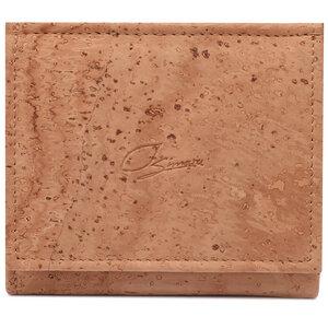 Mini Geldbeutel aus Korkleder mit RFID Schutz & Wiener Schachtel - Simaru