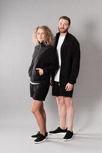 soki Trainingsjacke aus Bio-Baumwolle black - soki Kassel
