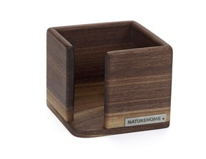 Zettelbox Vollholz 9,4 x 9,4 cm - NATUREHOME