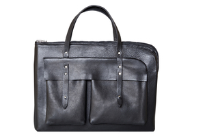 Business Bag aus Rhabarberleder - deepmello