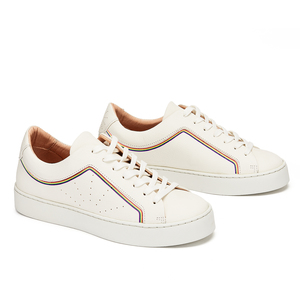 Laced Sneaker #boi rainbow line - NINE TO FIVE