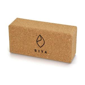 Yogablock aus natürlichem Kork - SIYA